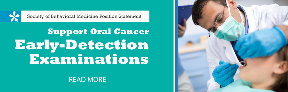 Oral Cancer Early Detection Statement