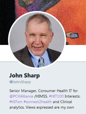 John Sharp Twitter Profile