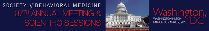 37th Annual Meeting, March 30 - April 2, 2016, Washington, DC