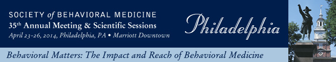 35th Annual Meeting, April 23-26, 2014, Philadelphia, PA